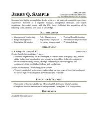 How To Write A Military Resume  bad resume example  how to write a     happytom co