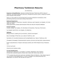 Student Resume Examples No Experience by Chic Pharmacy Technician Resume Sample 10 Certified Pharmacy