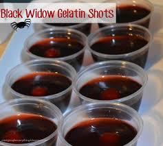 black widow gelatin shots my mini adventurer