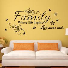 online get cheap wall decals online aliexpress com alibaba group beautiful family life love wallpaper art vinyl home decor mural wall stickers for kids room decals online free shipping