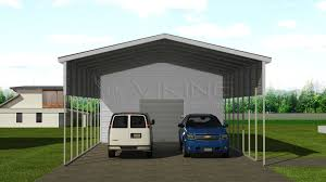 Carport Styles by 22x41 Metal Carport With Utility