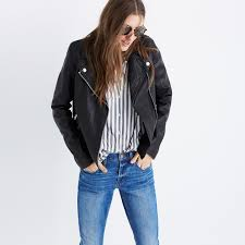 bike jackets for sale washed leather motorcycle jacket splurgy gifts madewell