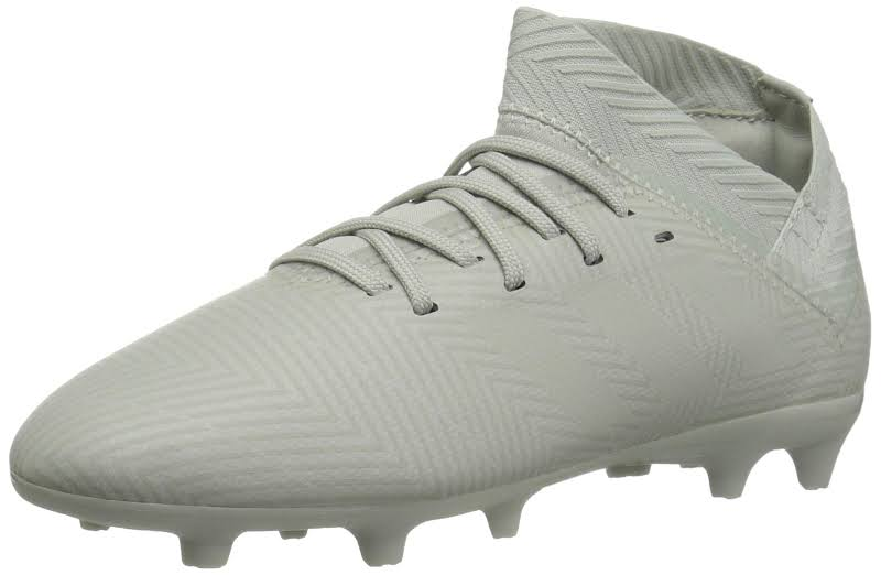 Adidas Boys Nemeziz 18.3 Firm Ground Soccer Shoes White 1.5