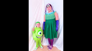 Halloween Costume Monsters Inc Diy Monsters Inc Halloween Costume Youtube