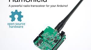 Ham Radio Business Cards Templates Hamshield For Arduino Vhf Uhf Transceiver By Casey Halverson