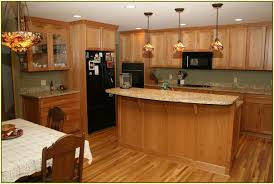 Kitchen Oak Cabinets by Oak Cabinets With Granite Countertops Ideas Also Golden For Images