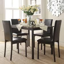 homesullivan bedford 5 piece black dining set 402601 485pc the