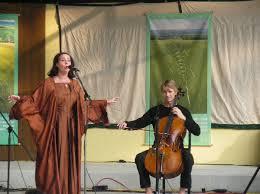 Auftritt am 20.9.2009 beim Friedensfest am Attersee, Karin Hackl, Günter Schagerl (Cello), Paul Freh (Obertongesang und Shruti ... - atterseekaya