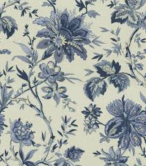 waverly upholstery fabric 56 home decor print fabric waverly felicite indigo at joann com
