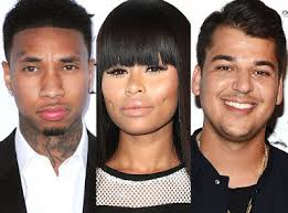 Tyga speaks out on Blac Chyna dating Rob Kardashian   Talk of Naija Tyga who was once engaged to Blac Chyna and shares a child with her finally addressed the news that his ex  Blac Chyna  is dating Rob Kardashian