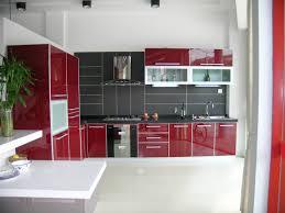 Red White And Black Kitchen Ideas Kitchen Kitchen Dining Designs With White Unique Kitchen Islands