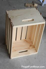 Easy To Make Wood Toy Box by Diy Wooden Crate Storage And Display For Wheels Cars