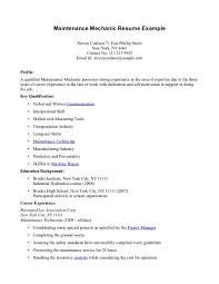 Resume Profile Section Examples by High Leavers Resume Example Augustais