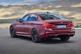 new 2018 bmw m5 revealed in pictures and video by car magazine
