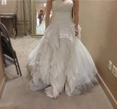 vera wang vera wang diana size 8 size 4 wedding dress u2013 oncewed com