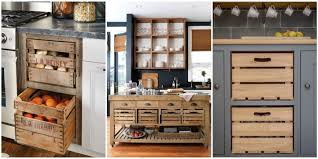 wooden crate drawers why every country kitchen needs one of