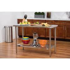 trinity ecostorage 48 in nsf stainless steel table tls 0201 the