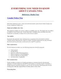 Us Visa Resume Sample  examples images best cover letter for