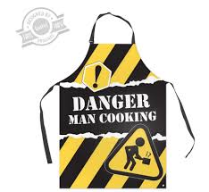 tablier de cuisine personnalisable tablier de cuisine rigolo pour homme danger man cooking