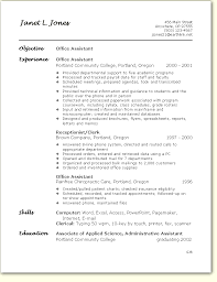 Sample Resume For Admin Assistant by Resume Examples Administrative Assistant Objective