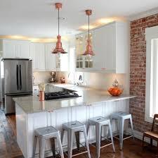 breathtaking ikea kitchen island hack with copper industrial
