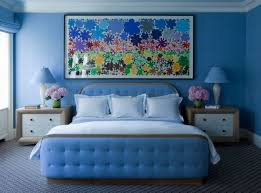 Blue Bedrooms With Soothing Designs - Blue bedroom designs