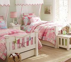 Two Twin Beds In Small Bedroom Bedroom Stunning Kids Bedrooms Design With Gray Wood Bunk Bed