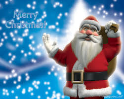 christmas santa claus wallpapers background