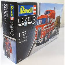 Revell 1 32 07671 Kenworth Aerodyne Model Truck Kit Revell From