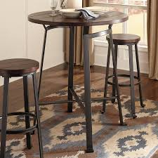 Ashley Furniture Round Dining Sets Signature Design By Ashley Challiman Round Pub Table Walmart Com