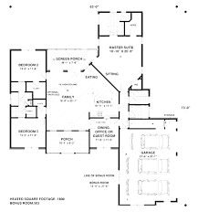 100 3 feet plan h107 executive ranch house plans 2000 sq ft