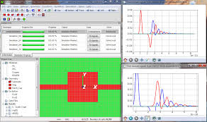 emgine environment 3d electromagnetic field simulator in time