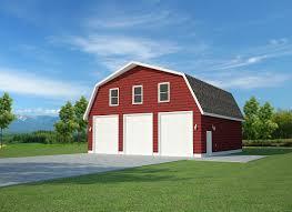 modern gambrel garage plans u2014 the better garages alluring