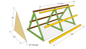 simple a frame chicken coop plans with chicken house plans kenya