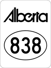 Alberta Highway 838