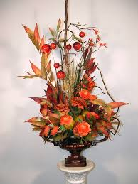 Flowers Home Decoration Decorating Ideas Delectable Picture Of Decorative Fall Orange