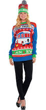 women u0027s ugly christmas sweater costume accessories party city