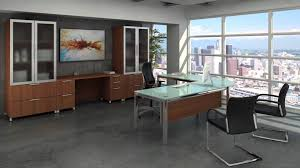Contemporary Office Desk by Executive Office Furniture Modern Office Desks Youtube