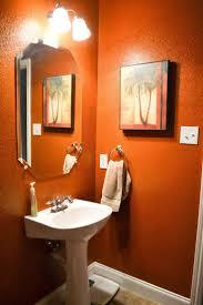 Bathroom Paint Designs 31 Best Orange Bathroom Images On Pinterest Bathroom Ideas