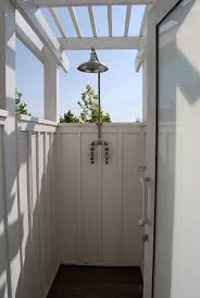 181 best cabana and outdoor shower images on pinterest outdoor outdoor shower similar to little gray beach house 12th ave santa cruz