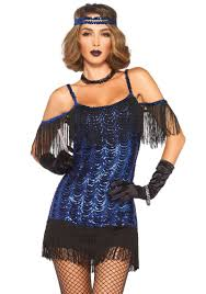 flapper halloween costume from leg avenue