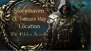 Coldharbour Ce Treasure Map Elder Scrolls Online Stormhaven Ce Treasure Map Location Youtube