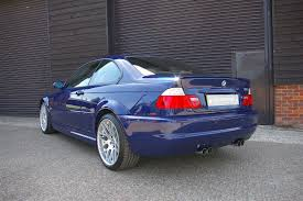 used bmw e46 m3 3 2 cs coupe 6 speed manual seymour pope