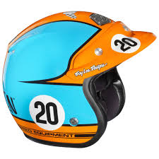 open face motocross helmet casque troy lee designs open face steve mcqueen limited edition
