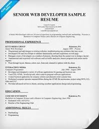 Best Java Developer Resume by Java Developer Resume Software Developer Resume Exxample Sample
