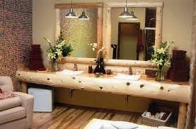 elegant rustic bathroom ideas vessel sink for diy vanity double