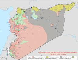 Iraq Syria Map by Insurgencies Geocurrents