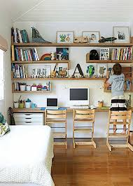 Best Computer Space In Family Room Images On Pinterest Kids - Family room office