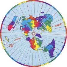 Google Maps Time Zones by The Ultimate Flat Earth Map Collection Aplanetruth Info