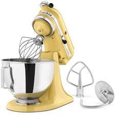 Kitchenaid Stand Mixer Sale by Kitchenaid Ksm85pbmy Majestic Yellow 4 5 Quart Tilt Head Stand